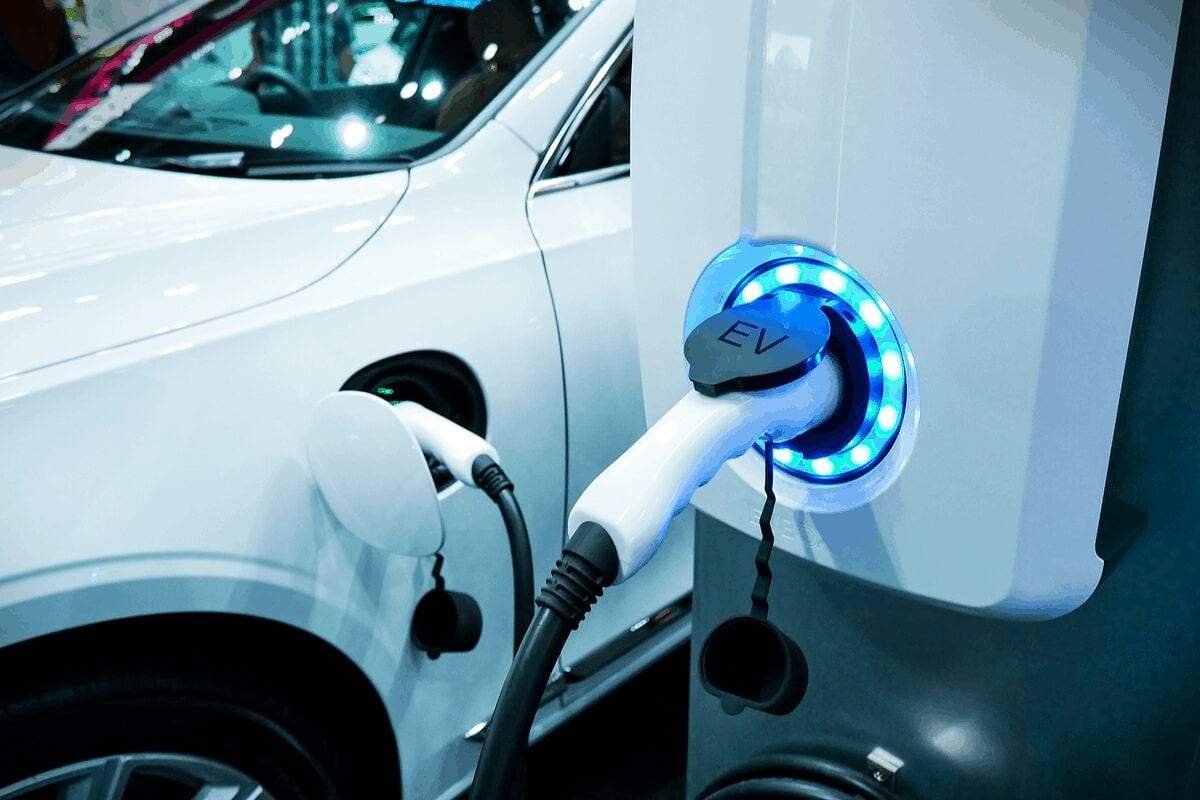 Electric vehicle charging.