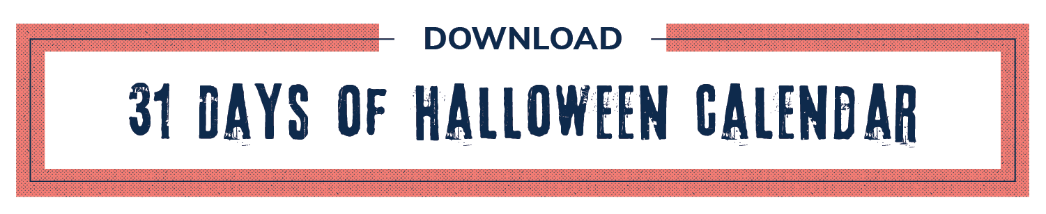 31 days of Halloween download button