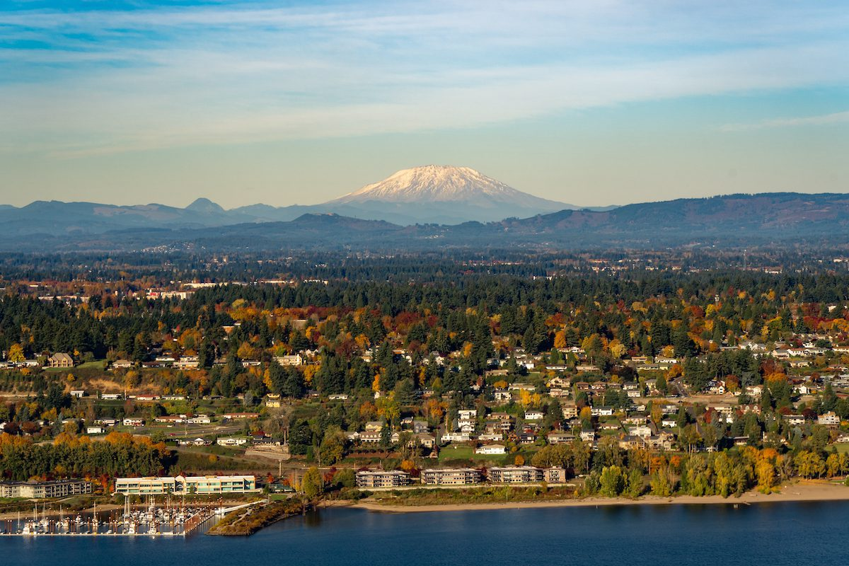 Vancouver, Washington is one of the best cities near Portland, Oregon