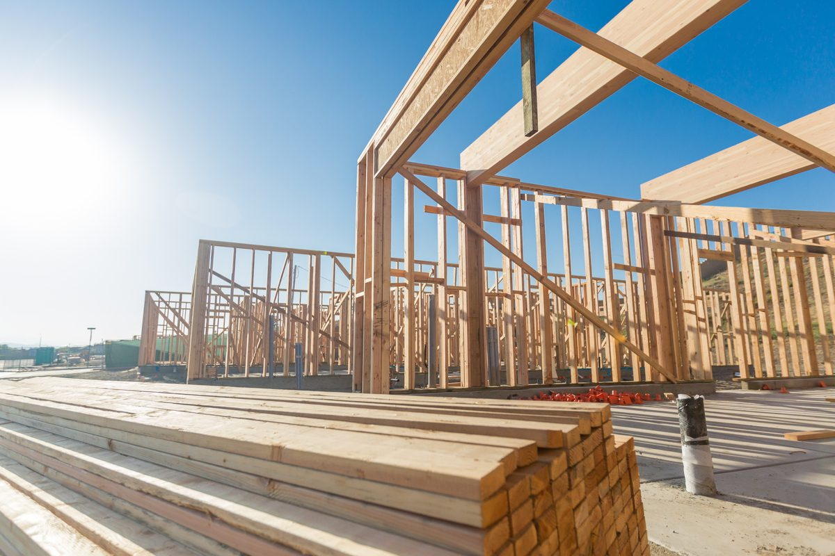 Build to rent home construction.
