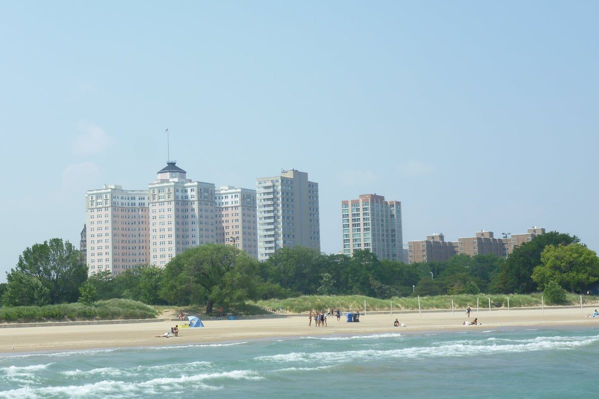 kathy osterman beach in chicago