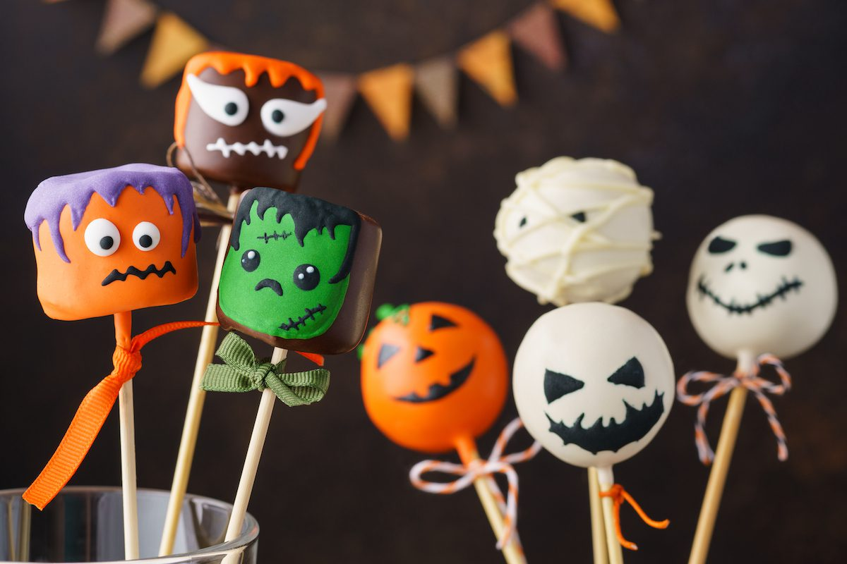Halloween treats for trick-or-treating