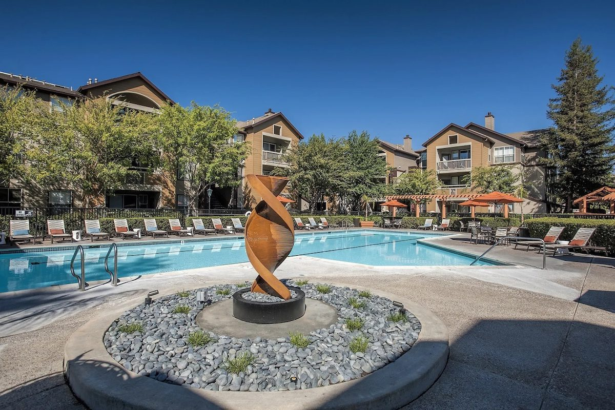 Most expensive apartment in San Jose pool